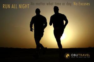 run all night Spruch