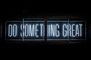 do something great writing