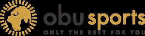 Logo obu sports transparent schwarz klein
