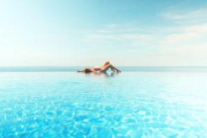 Fraum am Pool Urlaub